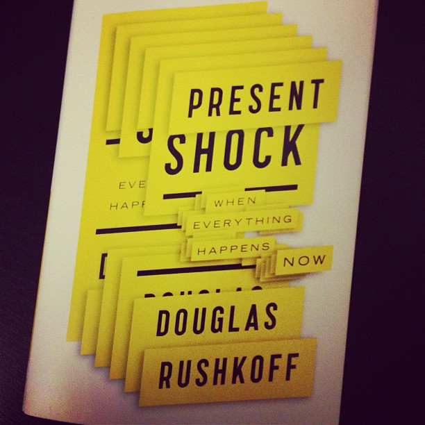 Present Shock Book Cover